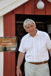 En glad och nöjd projektledare Stefan Edman