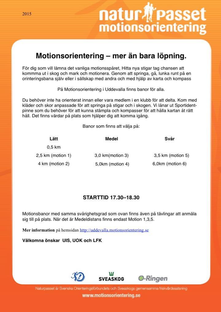 motionsorientering